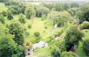 A view from atop Blarney Castle
